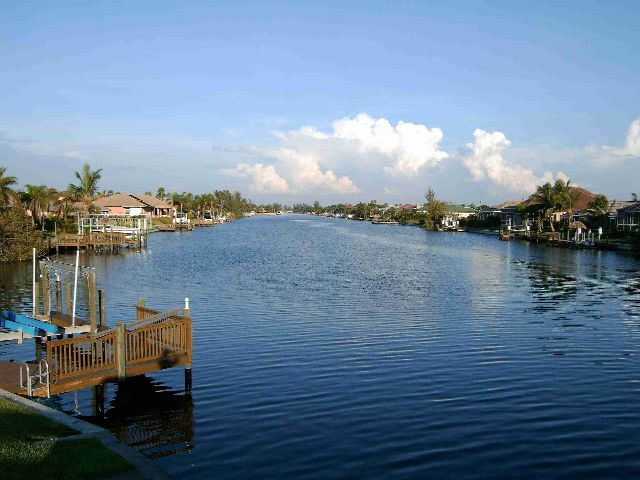Cape Coral - Blick auf Kanal