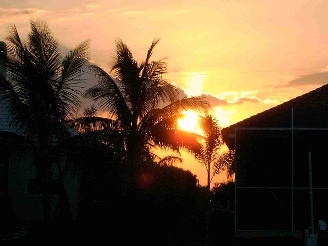 Sonnenuntergang in Cape Coral, 5318 Sands Boulevard