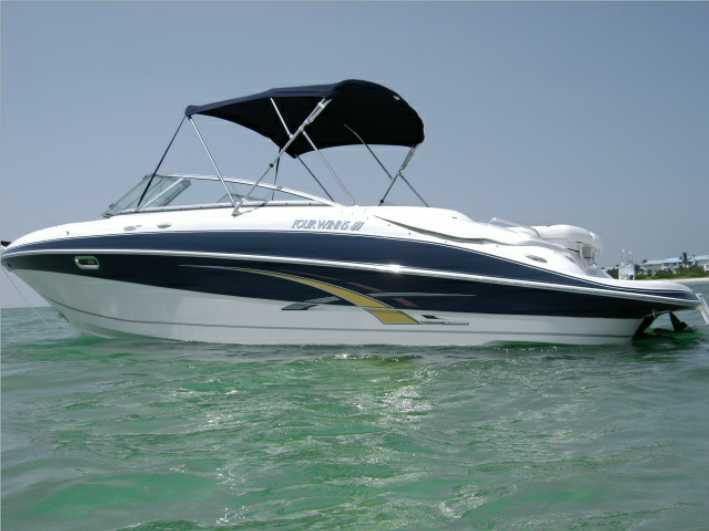 Four Winns Horizon 260. Power Boat: